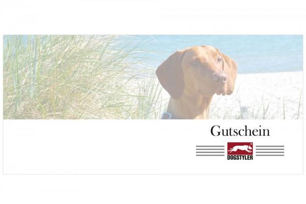 DOGSTYLER® Dog voucher