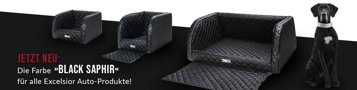 """Jetzt NEU: Die Farbe """"Black Saphir"""" für alle Excelsior Auto-Produkte!"""