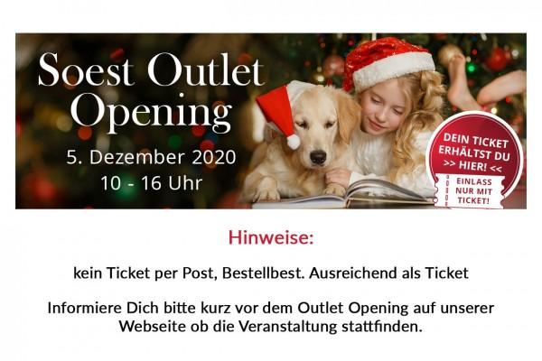 Outlet Ticket 5. Dezember