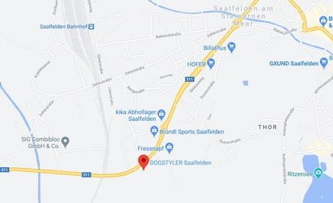 Jetzt direkt die Route nach Saalfelden planen
